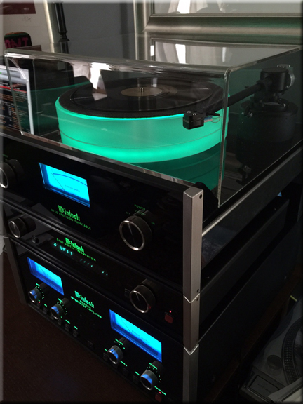 McIntosh Turntable Dust Cover