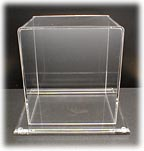 Display Case with Acrylic Base to match