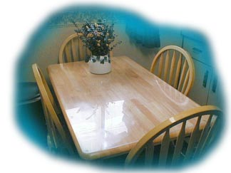 Attractive Rectangle Tabletop